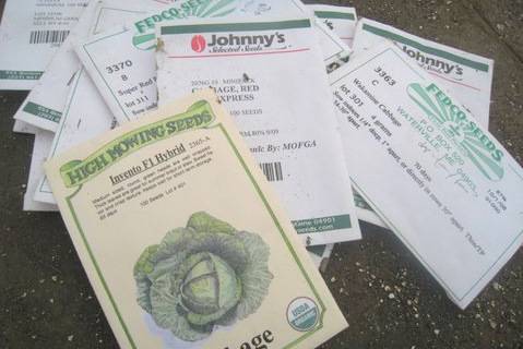 seed packets are trending up with the locally grown industry